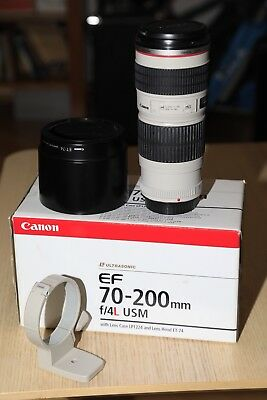 Canon EF 70-200 mm f/4 L mit OVP Top Zustand