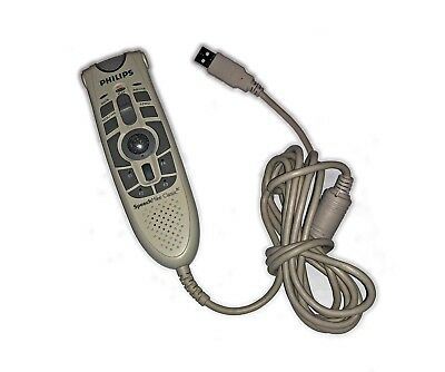 Philips Speechmike LFH5282, PC dictation microphone with bar code scanner