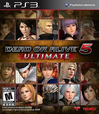 Dead or Alive 5: Ultimate (Sony PlayStation 3, 2013)