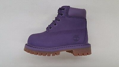 TIMBERLAND 6 INCH PREMIUM DOUBLE SOLE PINK NUBUCK GUM BABY TODDLER BOOTS A1KSX