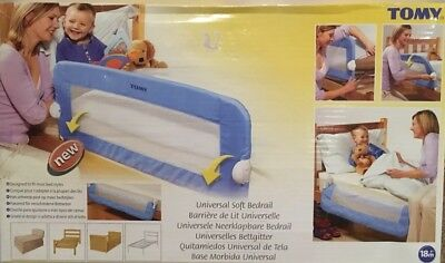 Tomy Toddler Blue Bed-guard