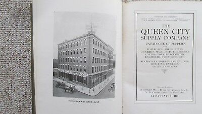 1910's Queen City Supply Company Catalog-Mining & Railroad Supplies-Candlesticks
