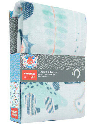 NEW Weegoamigo Plush Blanket  Science Assorted