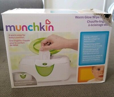 Munchkin Warm Glow Wipe Warmer CHEAP!!! NO TAX!!!