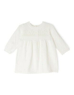 NEW Sprout Knit Dress Cream