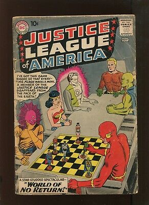 Justice League Of America #1 (1.0) Huge Silver Age Key!
