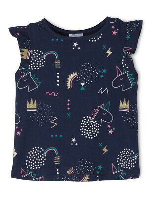 NEW Sprout Girls Essential Top TGS19000-CW8 Navy