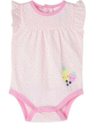 NEW Sprout Girls Basic Bodysuit Pink
