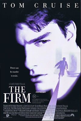 THE FIRM Original ROLLED Daybill Movie Poster TOM CRUISE Gene Hackman