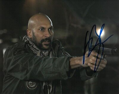 KEEGAN-MICHAEL KEY SIGNED 8x10 PHOTO PROOF COA AUTOGRAPHED PREDATOR