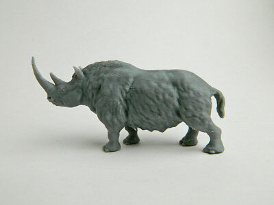 Woolly Rhinoceros 3d plastic sculpture, 1/35 scale, based on painting.