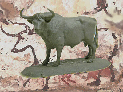 Auroch Ice Age Bull 1/35 scale cast resin model, free shipping in USA