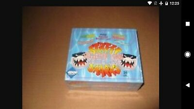 Street Sharks Trading Card Box