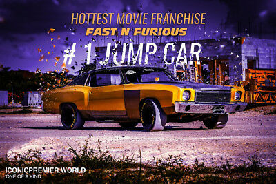 """1970 Chevrolet Monte Carlo Fast N Furious """"Fast N Furious"""" movie car Monte Carlo  collector muscle ford  pro touring"""