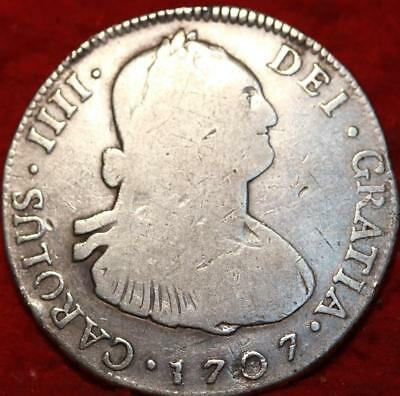 1707 Spain 4 Reales silver Foreign Coin