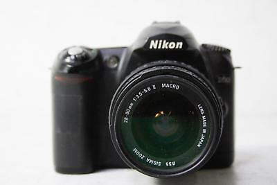 Nikon D50 6.1 Mp Digital Slr Camera With 28-80Mm Ii Macro Sigma Zoom