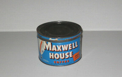 Vintage Maxwell House Tin Coffee Can  Drip Grind