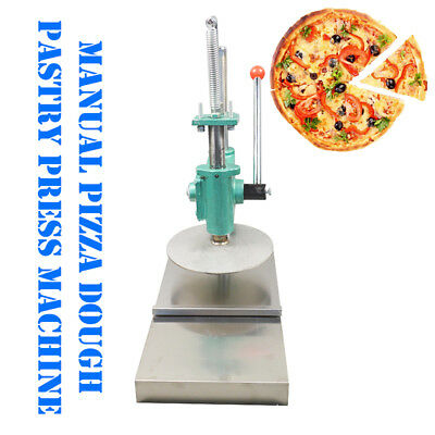 New 9.5 inch Stainless Steel Household Pizza Dough Pastry Manual Press Machine