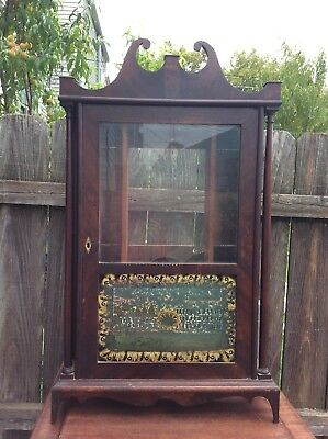 Antique Seth Thomas Pillar & Scroll Shelf Clock Case Only, Parts / Repairs