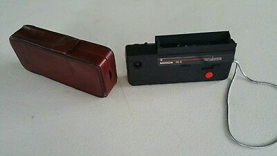 Minox 110S Rangefinder Camera + Authentic Case and Strap 25mm f2.8 110 S Spy