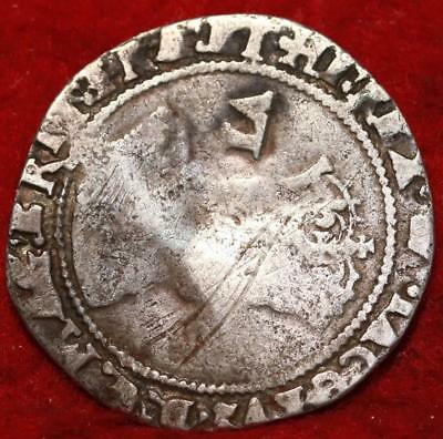 1608 Great Britain 6 Pence Silver Foreign Coin