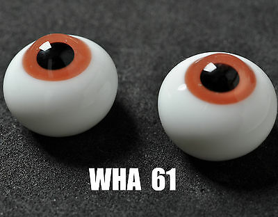 New 14mm Pink Glass BJD Eyes for minifee Ball Joint Doll Dollfie