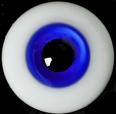 Nice 14MM Sapphire Blue Glass Eyes Outfit for MSD DOD DZ AOD Volks Luts BJD Doll
