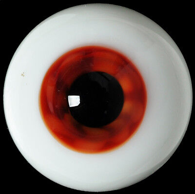 Nice Colorful(Brown)Iris 14mm Glass BJD Eyes for Joint Iplehouse 1/4 BJD Doll