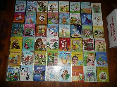 HUGE Lot of 181 LITTLE GOLDEN BOOKS New & Vintage Titles GREAT VARIETY Picture