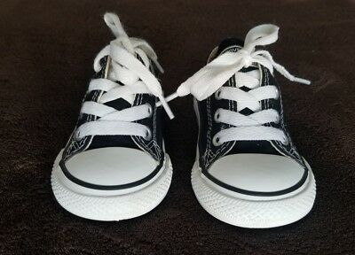 Kids' Toddler Converse Chuck Taylor Ox Casual Shoes Black 7J235 BLK
