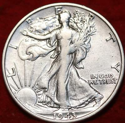 1943-S San Francisco Mint Silver Walking Liberty Half