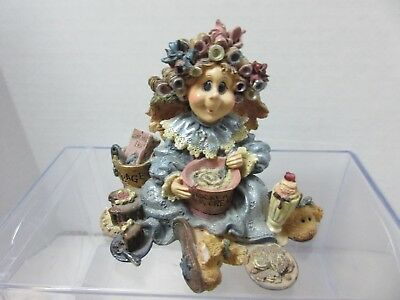 Boyds Bears & Friends The Wee Folkstone Angel Of Denial Dieting Made Easy 1998