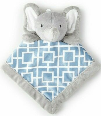 Adorable Levtex Baby Elephant Security Blanket.