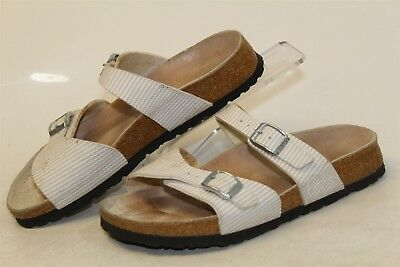 7fcc628bd0e4 BIRKI S BY BIRKENSTOCK Used Womens 5 36 Sandals Slides Flats Shoes ...