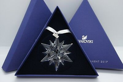 Swarovski 2017 ANNUAL EDITION CHRISTMAS ORNAMENT AUTHENTIC BRAND NEW IN BOX