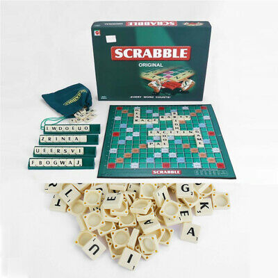 Scrabble Classic Original Board Family Kids Adult Educational Toys Puzzle Game