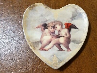 Bradford Exchange Angel Heart Plate, 1995 Limited Edition