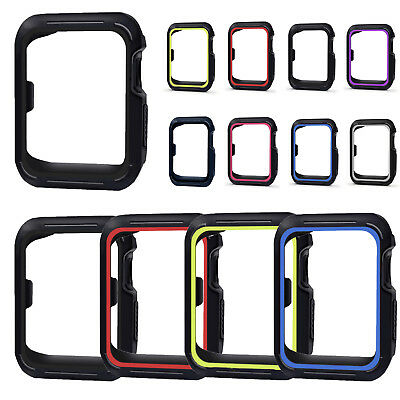 40mm / 44mm Watch Protective Case Shell Silicone Frame Cover for iwatch Series 4