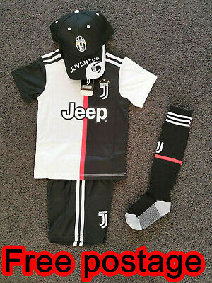 buy online 14471 dacf8 NEW 2019 Kids Soccer Jersey #7 Ronaldo Juventus Set Top+ ...