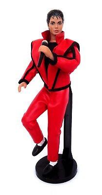 "Michael Jackson-1984 Thriller Stage Outfit 12"" Tall Action figure/ Doll LJN Toys"
