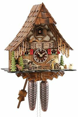 Eble -holzhacker 35cm- 24723 Cuckoo Clock Original Black Forest Cuckoo Clock