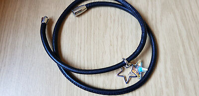 Swarovski Leather Bracelet Woman Femme For Charms Pendentifs