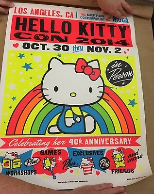 Hello Kitty Con 2014 Poster