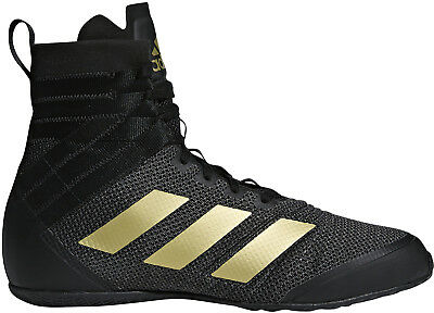 adidas Speedex 18 Boxing Shoes - Black