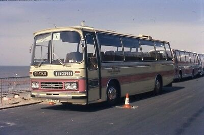 Shaw's of Barnsley Duple Bodied Ford OHE 933R Original Bus Slide