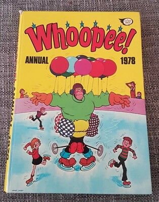 Childrens Comic Annual. WHOOPEE 1978 VGC