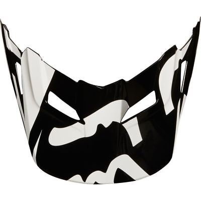 Fox Racing MX Spare Parts Mx18 Yth V1 Helmet Visor Race Black One Size 21306