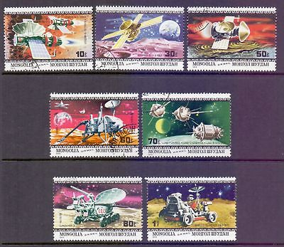 Mongolia  1979  Space Missions, CTO.