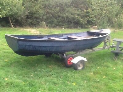 Fishing boat .trailer.luanching trailer.seagull long shaft outboard .