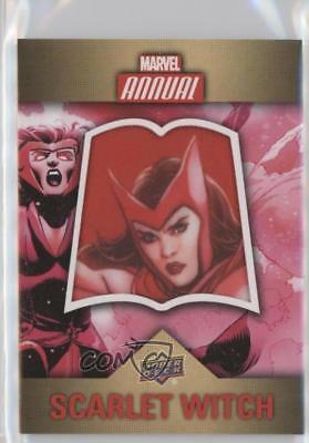2016 Upper Deck Marvel Annual Single Character Patch #CP-12 SP Scarlet Witch l3q